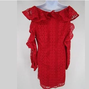French Connection Dresses - French Connection Massey RED  Dress Size 12 NEW